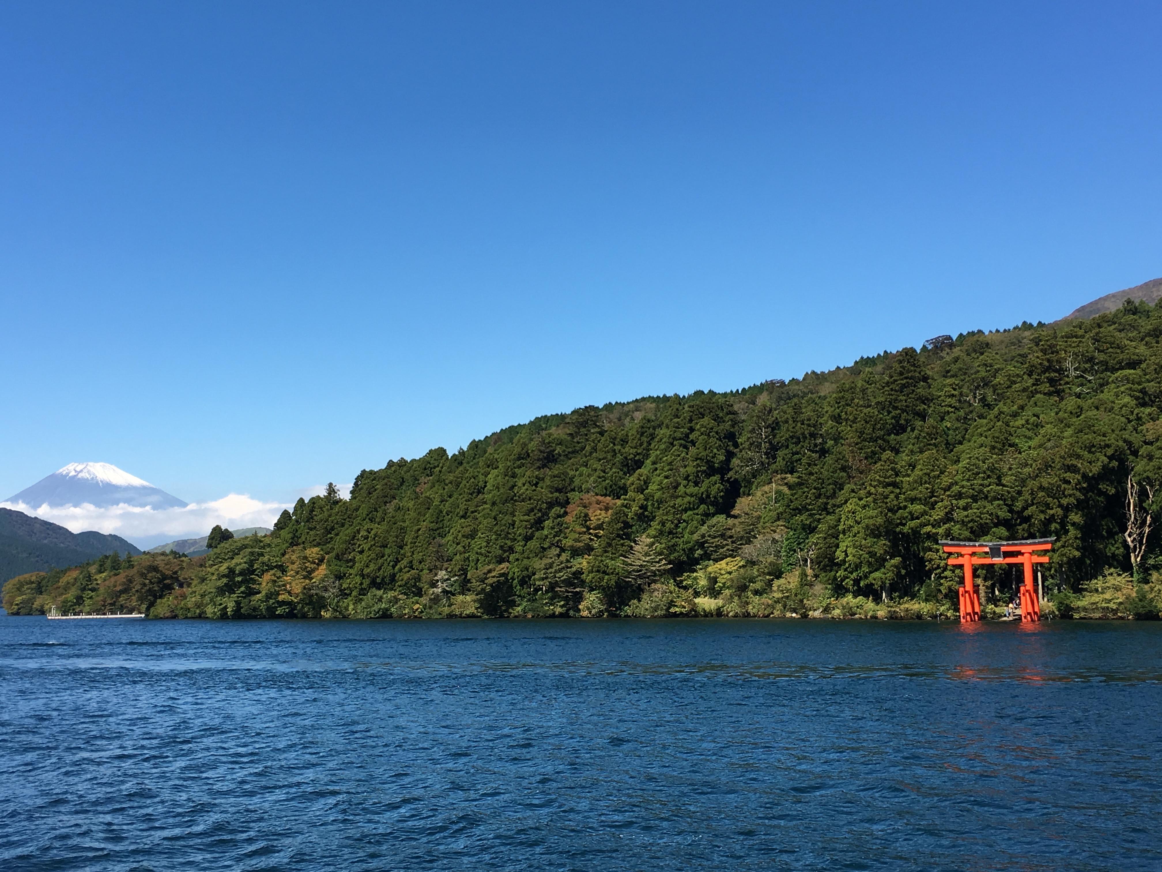 箱根九頭龍神社に参拝したよ。お願い事叶うかな