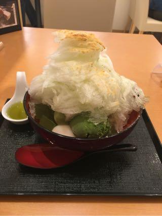 極み抹茶氷 葉風穂(はぁふぅほっ)雪くま カキ氷2016