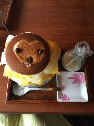 大福茶屋さわた ファンキーなおさるさん 熊谷の夏の風物詩雪くま 2016
