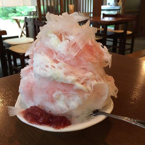 騎崎屋 熊谷 雪くま いちごミルク 2016
