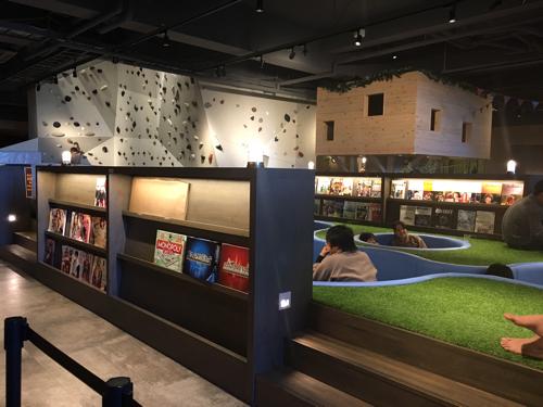 おふろcafe bivouac熊谷のリラクゼーションスペース