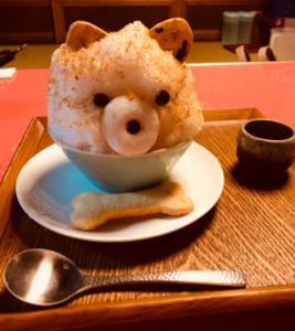 雪くま 大福茶屋さわた 2018年も可愛い干支かき氷 豆しばポチ