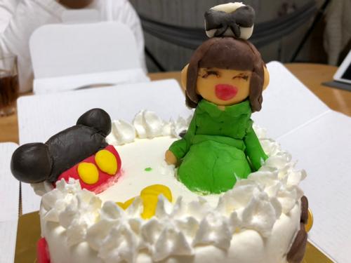 小学校最後の授業参観 夢ケーキを作ろう!