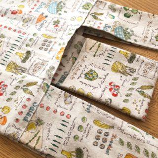 本の通りにエコバック作成したのに大失敗 布の種類にも気を使おう